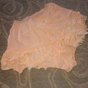 🌷VINTAGE🌷Blush antique panties w dotted trim